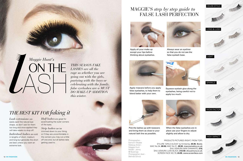 Maggie Hunt Celebrity Makeup Artist Maggie Hunts On The Lash